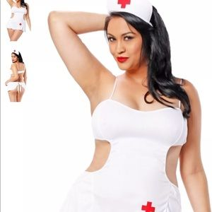 Other - Plus size nurse lingerie new in plastic